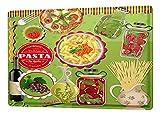 Cartello Targa In Metallo Alimentare Ristorante Decorazione Olio d'oliva Pizza Pasta Piastra Insegna Metallica 20X30 cm