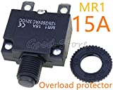 1 x Thermo-Schalter MR1 3A, 4A, 5A, 6A, 7A, 8A, 10A, 15A, 18A, 20A, 25A, 30A Überlastungsschutz