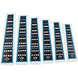 6Pcs Violin Practice Fingerboard Sticker Fret Finger Marker Chart