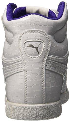 Puma , Mädchen Sneaker schwarz Bianco/Bianco