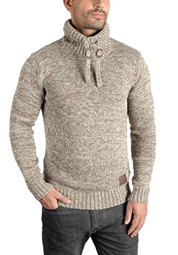 SOLID Phirance - Pull en Maille- Homme Dune (5409)