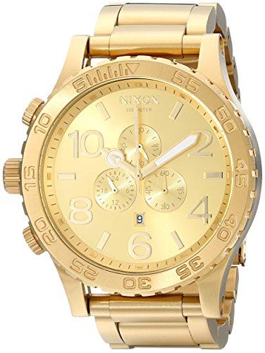 nixon-a083502-00-51mm-gold-steel-bracelet-case-mineral-mens-watch