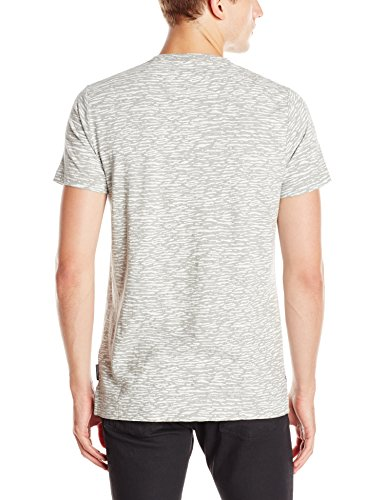 French Connection Herren T-Shirt Grau (GREY MELANGE/WHITE 11)