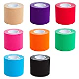 6 Rolls Activo Kinesiology Tape 3 m x 5 cm in 8 Colours