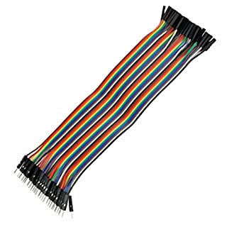 'Aihasd 120pcs 3 in 1 Kit 10 cm Female/Female MALE FEMALE MALE/MALE Jumper Wire Dupont Cable Steckbr ¨ ¹ to Drahtbr ¨ ¹ F¹ R EASY TO Arduino Raspberry Pi