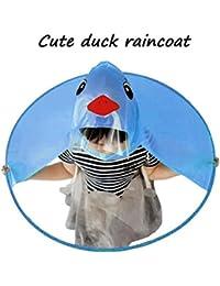 YUYOUG UFO - Paragüero portátil para niños, diseño de Pato, con manecillas mágicas,