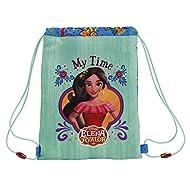 Safta Elena De Avalor Set sacs scolaires, 34 cm, Bleu (Azul)