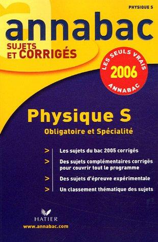 Physique S : Enseignement obligatoire et de spécialité