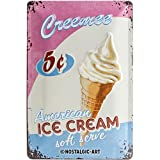 Nostalgic-Art 22145 USA - Ice Cream, Blechschild 20x30 cm