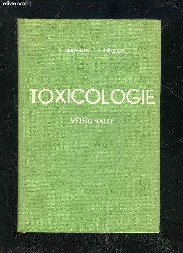TOXICOLOGIE VETERINAIRE