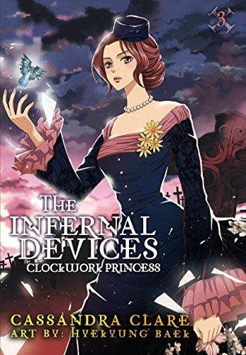 Book cover for Clockwork Princess