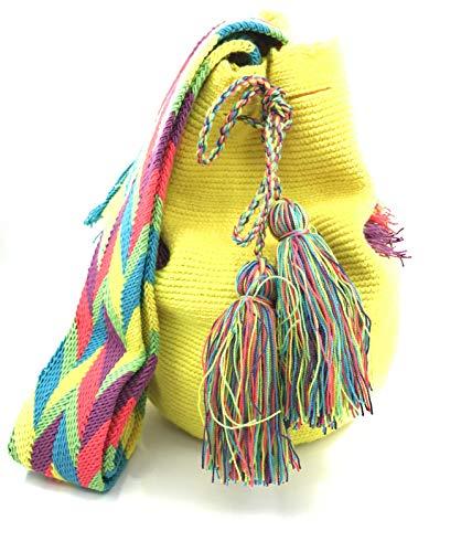 cd3caa3eb COLOMBIAN STYLE Bolsos Colombianos Artesanales, mochilas Wayuu, tanto para  mujer como para.