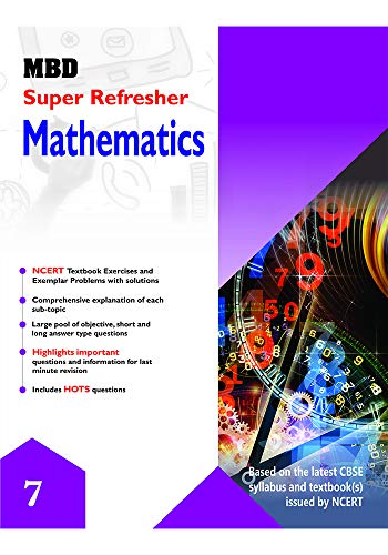 MBD SUPER REFRESHER MATHEMATICS - VII (CBSE) (E) (English Edition)