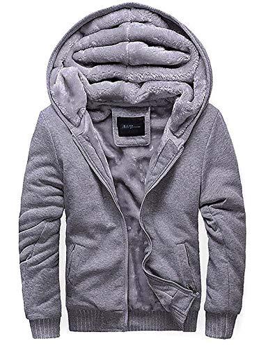 Ozonee Uomo Felpa con Cappuccio Pullover Moderno Quotidiano Streetwear  Sport Abbigliamento Sportivo Maglia a Maniche Lunghe 1fc2f605dc