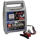 Sumex 3505127 - Cargador Batería 12 AMP, 12V