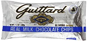 Guittard Milk Chocolate Maxi Baking Chips (Pack of 12)