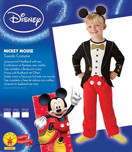 Imagen de toyland  disfraz mickey mouse para niños, talla m, edad 5  6 años vp 3610380 m  alternativa
