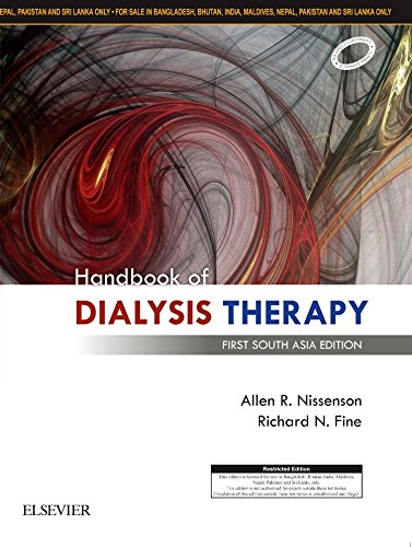 Handbook of Dialysis Therapy: First South Asia Edition