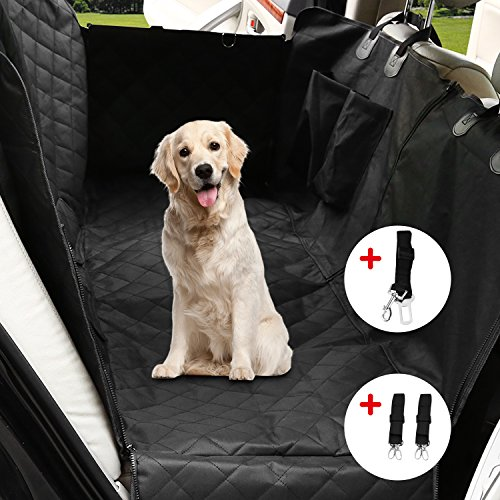 OUTAD Seggiolino Auto per Cane Coprisedile per Cane Coprisedile Anteriore Singolo Coperta Telo per Proteggere Sedile di Automobile per Animali Domestici, Coprisedile Impermeabile