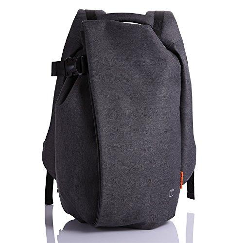 Zaino per Laptop da 15 Pollici con Presa Ricarica USB Della Borsa Zaino Impermeabile Durevole Scuola Zaino Borsa Uomo Viaggi D'affari All'aria Aperta