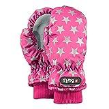 Barts Mädchen Handschuhe Nylon Mitts, Fuchsia (mit Sternen), Größe: 2 (2-3 Jahre)