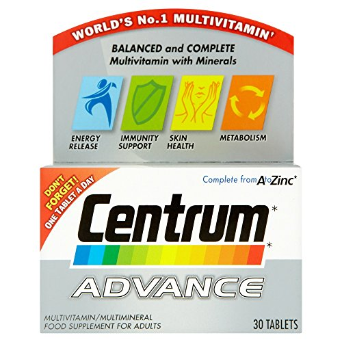 Centrum Advance Multivitamins 30 Tablets -