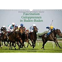 Faszination Galopprennen in Baden-Baden (Wandkalender 2014 DIN A4 quer): Galoppsport in Iffezheim, Baden-Baden (Monatskalender, 14 Seiten)