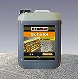 5 Liter Schalöl Professional Schaloel Trennmittel Betontrennmittel Schalungsöl Trennmittel für Formen und Schalungen Holz Metall Matrizenschalungen Mischerschutz