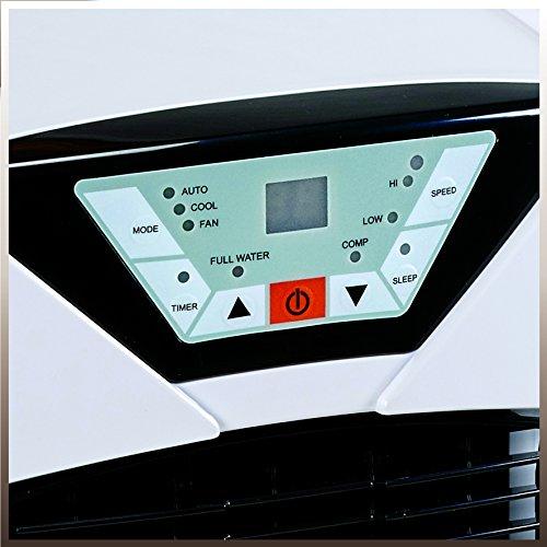 Einhell Lokales Klimagerät MK 2600 E (2600 W Kühlleistung, 375 m³/h Luftumwälzung, Temperatureinstellung, Energieklasse A) - 5