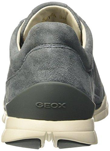 Geox D Sukie A, Baskets Basses Femme Grau (LAKEC4069)
