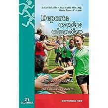 Deporte escolar educativo (Calistenia)