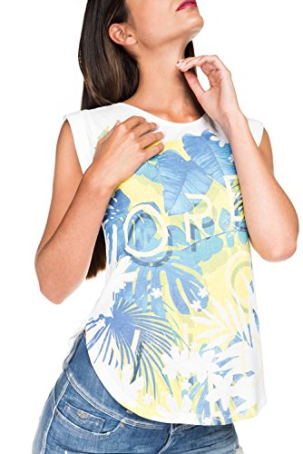 Salsa -  T-shirt - Donna Beige