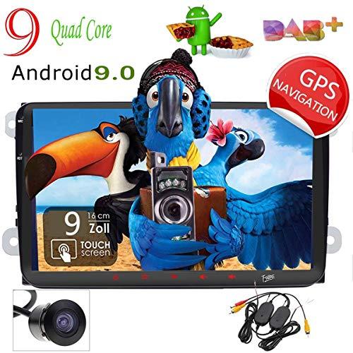 foiioe Backup Kamera inklusive Android 8.1 Auto Stereo Audio GPS Navigation 2DIN 9