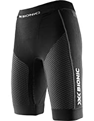 X-Bionic Mujer Running Lady Speed Evo OW Pants Pantalones Cortos, primavera/verano, mujer, color Negro / Gris antracita, tamaño small