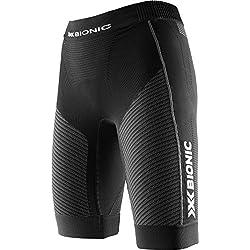 X-Bionic Mujer Running Lady Speed Evo OW Pantalones cortos de mujer, primavera/verano, mujer, color Negro/Gris antracita, tamaño medium