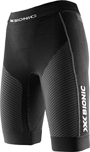 X-Bionic Damen Running Lady Speed Evo OW Pants Shorts, Black/Anthracite, L