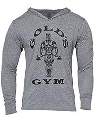 Golds Gym Mens Muscle Joe Tri-Blend capuche gris, sweat-shirt, pull, sweat à capuche