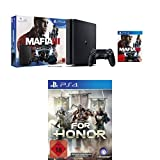 PlayStation 4 - Konsole (1TB, schwarz,slim) inkl. Mafia 3 + For Honor