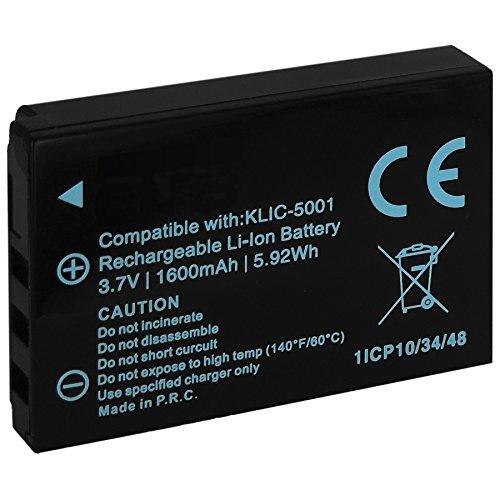 Batteria Klic-5001 per Kodak Easyshare DX6490, DX7440, DX7590, (Memoria Dx6490 Kodak)