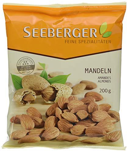 Seeberger Mandeln extra, 12er Pack (12 x 200 g Beutel)