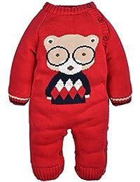 ZOEREA barboteuse bébé pull bébé fille enfant pyjamas bébé vetement costume enfant garçon chandails de Noël manches longues