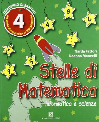 Stelle di matematica. Per la 4ª classe elementare