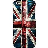 Casotec London Flag wallpaper Design Hard Back Case Cover for Apple iPhone 6 / 6S