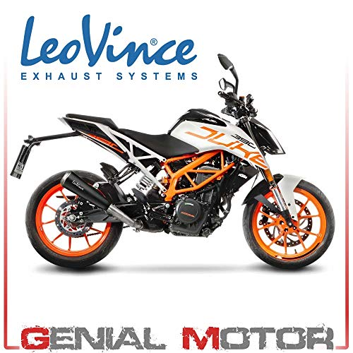 LeoVince Gp One KTM 390 Duke Auspuff