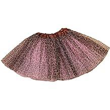 NiSeng Tutu Ballet Faldas de tul Enagua Tutú para niña en varios colores Talla única