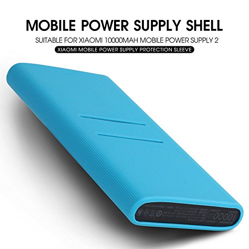 AWINNER Silicone Protector Case Cover for Mi 10000mAH Power Bank 2i (Black) Image 3