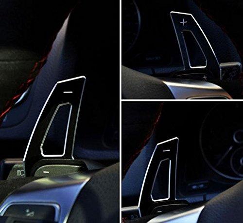 Emblema Trading Alu SCHALT wippen estensione della garanzia per Golf 7NERO (SOLO ADATTO A Golf 7GTI/r/GTD)