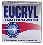 EUCRYL TOOTHPOWDER 50g ORIGINAL FLAVOR POWERFUL TEETH STAIN REMOVER POLISHING