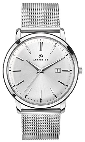 Accurist Unisex-Adult Watch, Analogue Classic Display and Stainless Steel Strap 7209.01