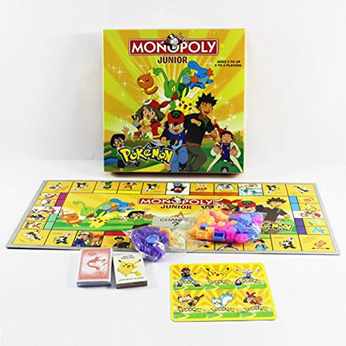 Monster Pokemon MONOPOLY 2~4 Players